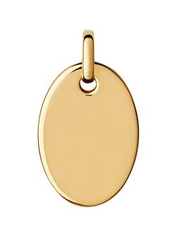 Narrative Yellow Gold Vermeil Pendant