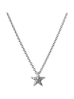 Diamond Essentials White Star Necklace