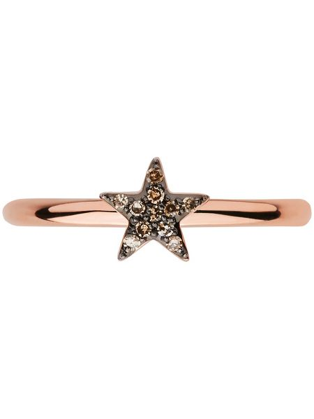 Links of London Diamond Essentials Rose Gold Star Ring
