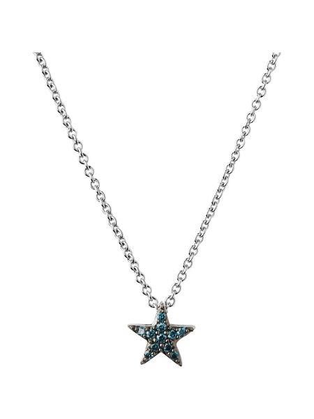 Links of London Diamond Essentials Blue Star Necklace