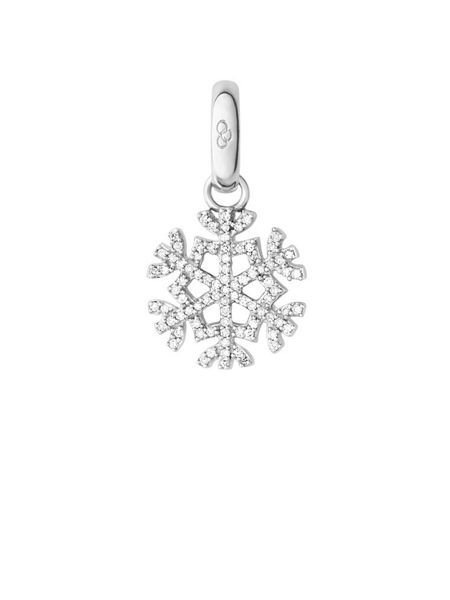 Links of London Silver & diamond snowflake charm