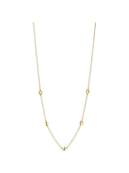 Links of London Grace yellow gold vermeil station necklace