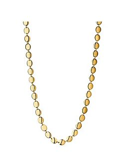 Grace 18kt yellow gold vermeil collar