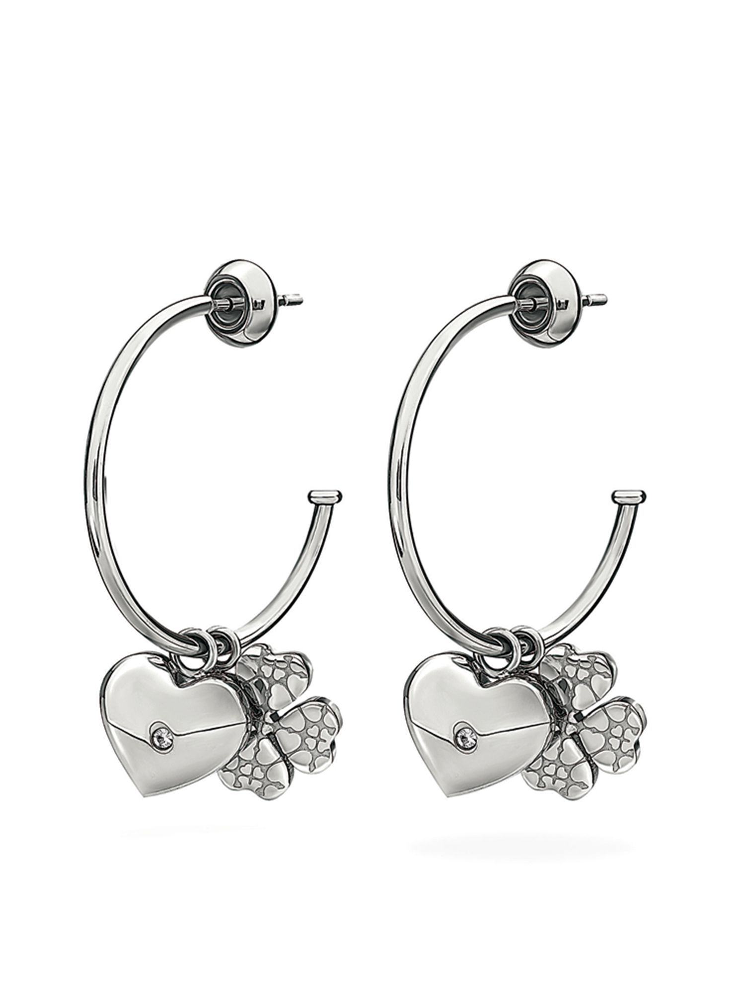 folli follie heart4heart sweetheart earrings