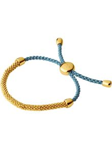 Links of London Effervescence XS Blue Cord Bracelet