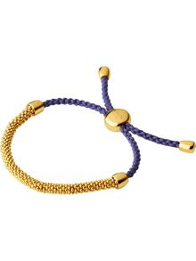 Links of London Effervescence XS Purple Cord Bracelet
