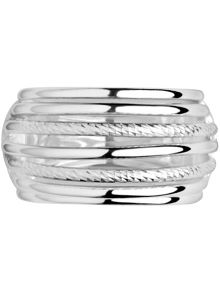 Links of London Aurora silver cocktail ring