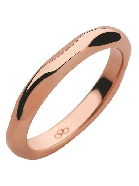 Links of London 20/20 18kt rose gold band ring