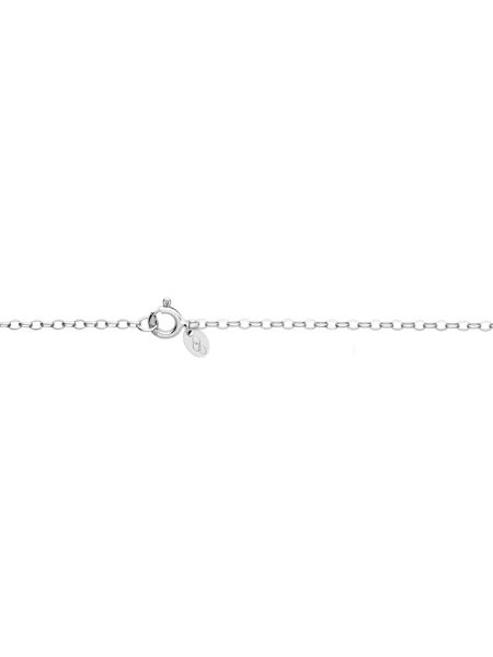Links of London Timeless silver large arch necklace