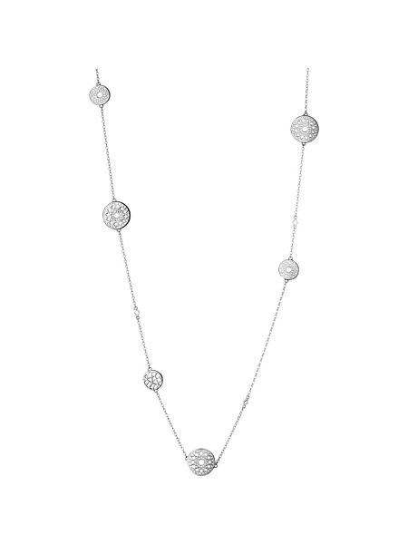 Links of London Timeless silver multi station necklace
