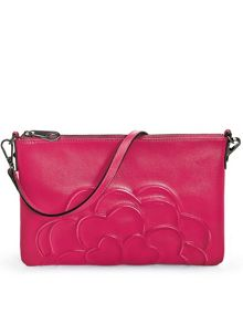Folli Follie Santorini flower large clutch bag