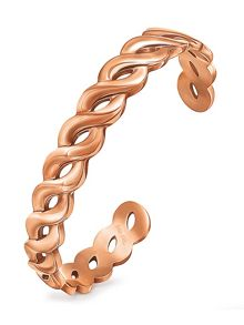 Folli Follie Apeiron rose gold cuff