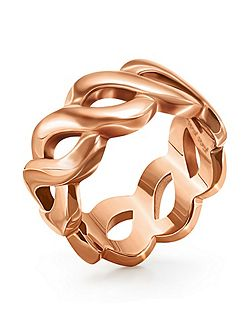 Apeiron rose gold ring