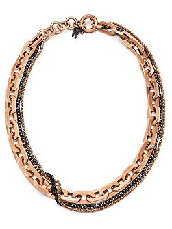 Timeless chain rosegold necklace