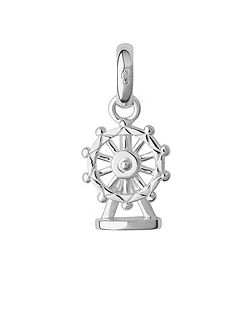 Sterling silver london eye charm