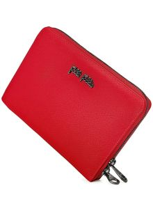 Folli Follie Saffiano zip wallet