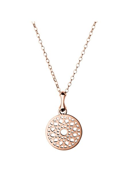 Links of London Timeless rose gold small necklace