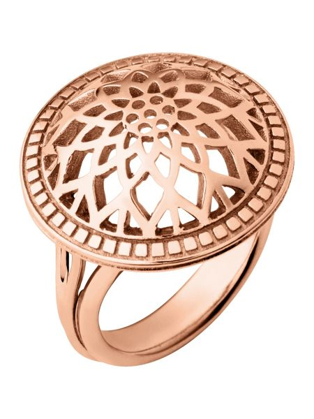 Links of London Timeless rose gold domed ring