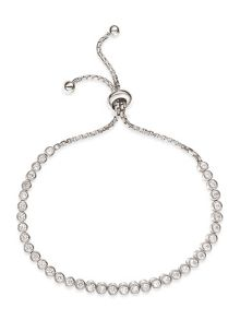 Folli Follie Fashionably silver circle bracelet