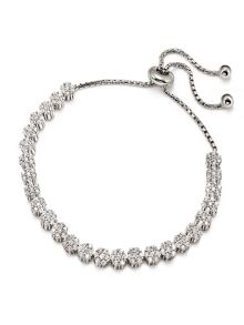 Folli Follie Fashionably silver flower blossom bracelet