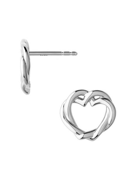 Links of London Kindred soul silver stud earrings