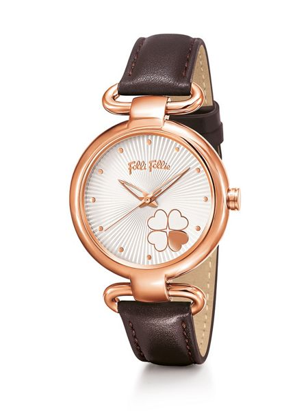 Folli Follie Heart4heart classy brown watch