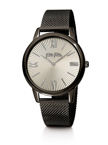 Folli Follie Match point black bracelet watch large