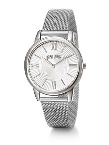 Folli Follie Match point silver bracelet watch
