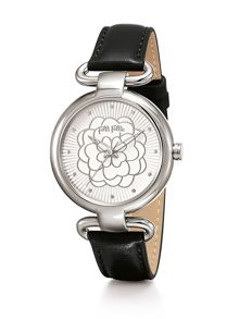 Folli Follie Santorini flower classy black watch