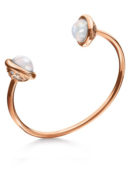 Folli Follie Orbit rose gold bangle