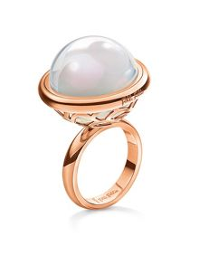 Folli Follie Orbit rose gold ring
