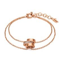 Folli Follie Touch rose gold bracelet