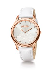 Folli Follie Santorini flower white watch