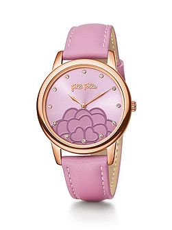 Folli Follie Santorini flower purple watch