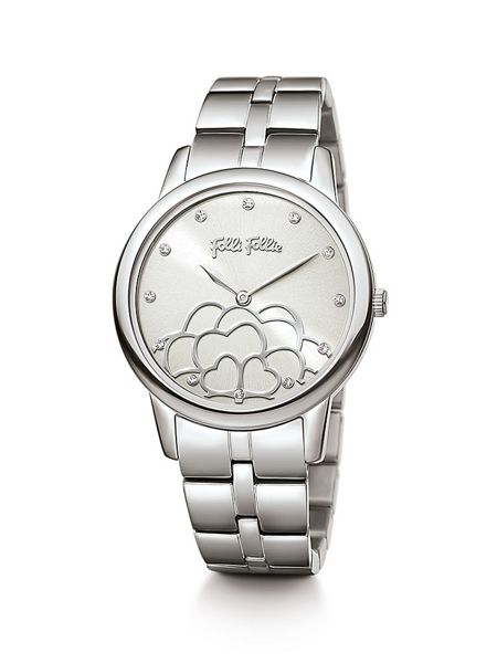 Folli Follie Santorini flower silver watch