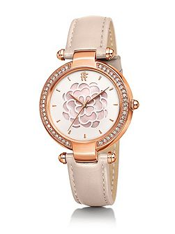 Santorini flower mop pink watch