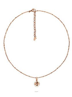 Grace ball pearl pendant necklace