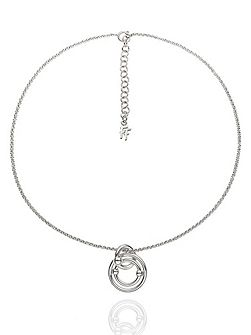 Bonds silver necklace