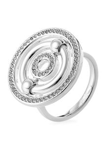 Folli Follie Bonds silver station ring