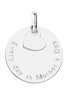 Links of London Sterling Silver Mother`s Day Disc Charm