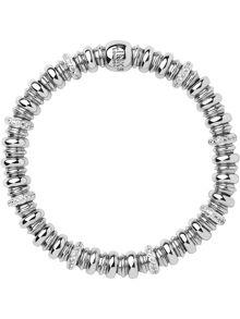 Links of London Sweetheart Silver & White Topaz Bracelet