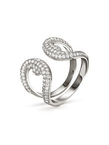 Folli Follie Fashionably silver loop ring