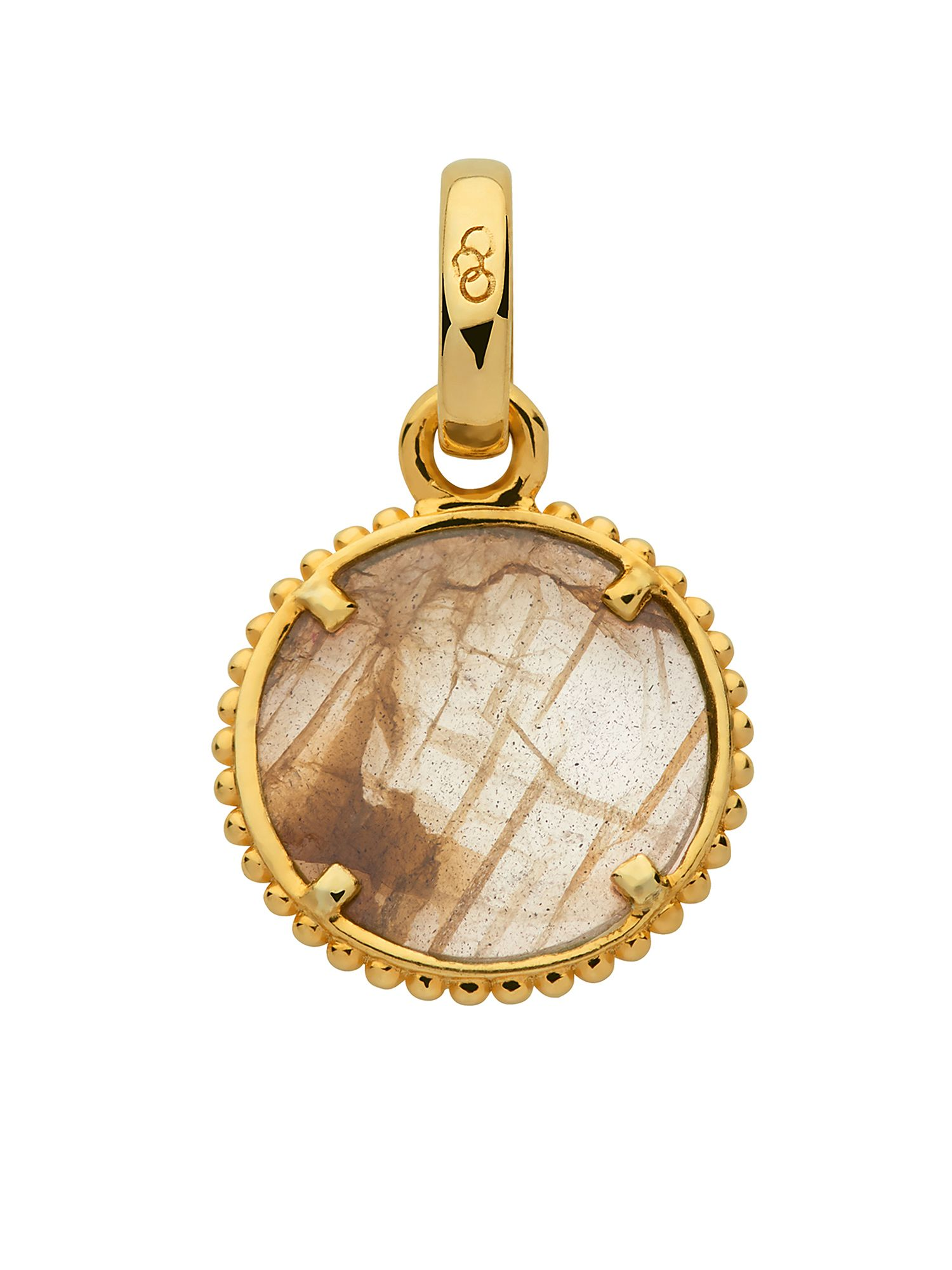 Links of London Amulet 18kt gold vermeil discovery charm, N/A
