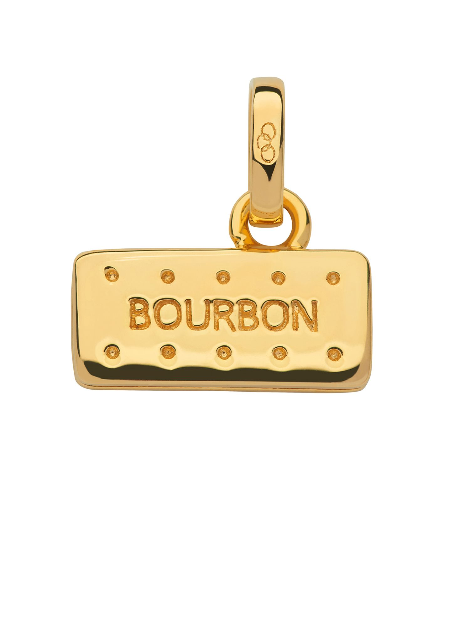 Links of London 18kt gold vermeil bourbon biscuit charm, N/A