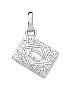 Links of London Sterling silver custard cream charm