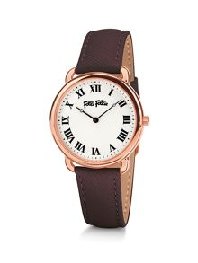 Folli Follie Perfect match brown watch
