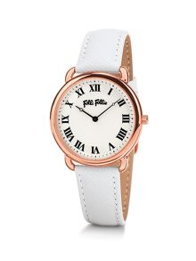 Folli Follie Perfect match white watch