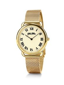 Folli Follie Perfect match gold watch