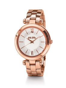 Folli Follie Lady bubble mini rose gold watch