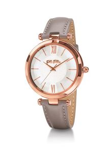 Folli Follie Lady bubble grey watch